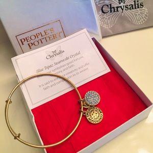Jewelry - Chrysalis Bracelet Blue Topaz Swarovski Crystal